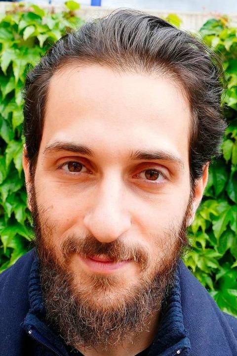 "Tommaso  Cavani, 25, Italien, Philosop...ich gehe ich am 26. Mai wählen.""  | Foto: Dominik Neininger"
