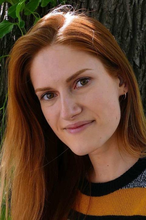 "Olga Eglite, 24, Lettland, Germanistik...kühltes Verhältnis zur Politik.""  | Foto: Dominik Neininger"