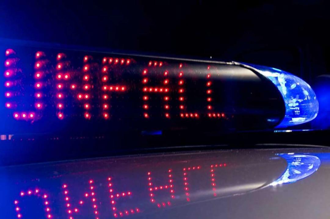 Einen Unfall am frühen Sonntagmorgen i...irch meldete die Polizei (Symbolbild).  | Foto: Monika Skolimowska
