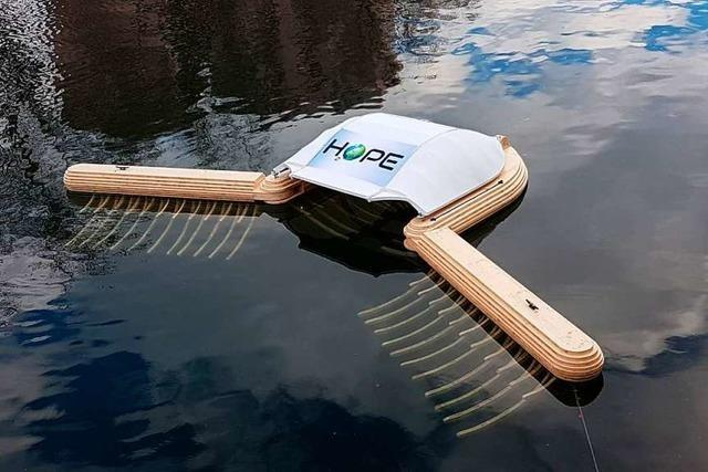 Straßburger Start-up entwickelt Gerät, das Plastik aus Gewässern klaubt