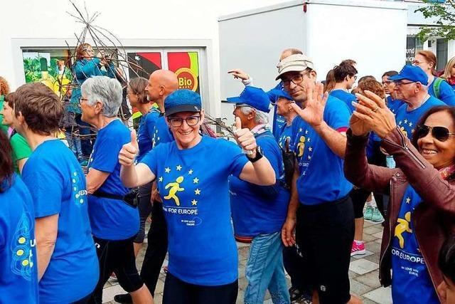 Mehr als 700 Teilnehmer beim Run for Europe in Breisach