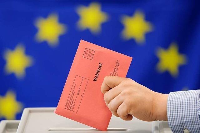 Die Zahl der Briefwähler steigt, zeigen die Beispiele Weil am Rhein und Rheinfelden