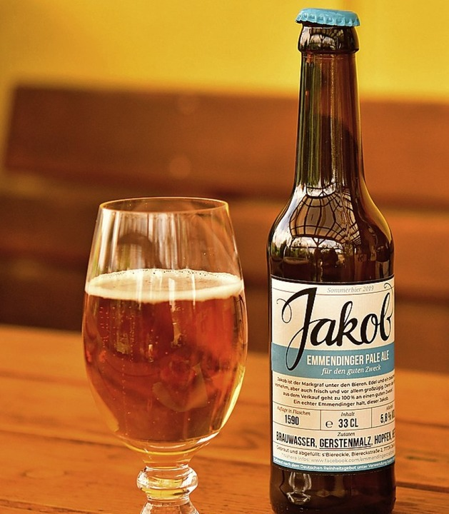 Emmendinger Bier: Jakob, der Markgraf unter den Bieren  | Foto: Dieter Erggelet