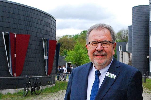 Professor Armin Schwolgin von der DHBW Lörrach geht in den Ruhestand – und hat viel vor