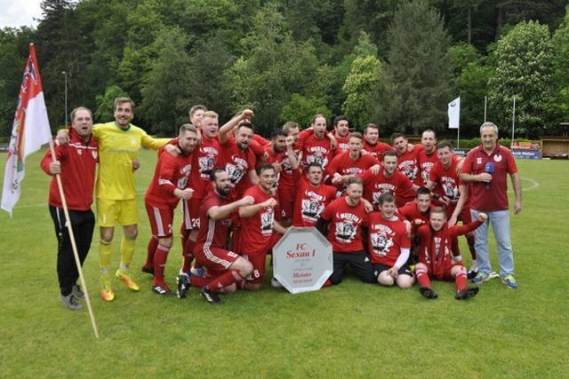 Nach Sieg gegen Buchholz: FC Sexau macht den Aufstieg klar