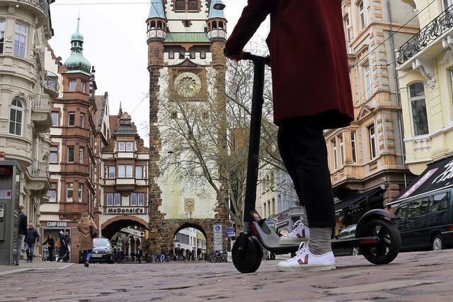 E-Scooter als Teil der Verkehrswende