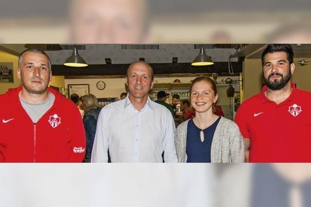 Ein Quartett führt den Sportverein