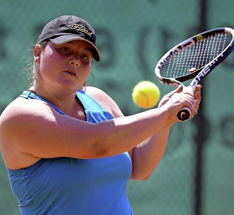 Einst die Nummer eins der Weltrangliste  im Racketlon: Nathalie Vogel   | Foto: Achim Keller