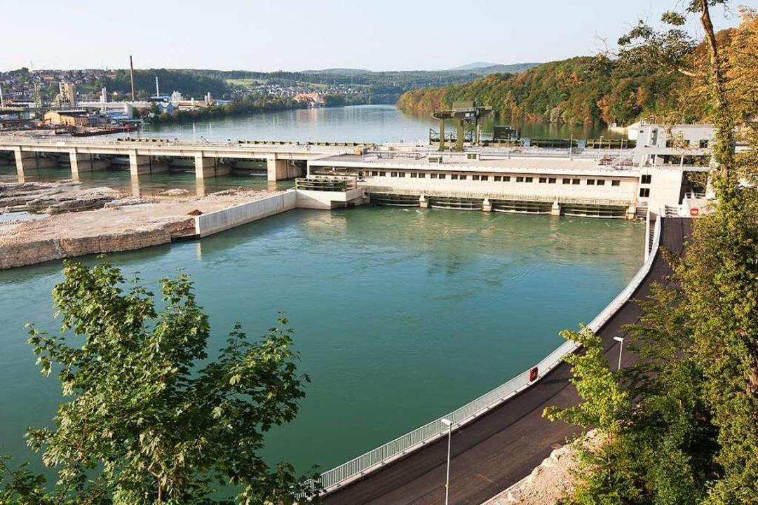 Das Kraftwerk in Rheinfelden – i... das Maschinenhaus am Schweizer Ufer.   | Foto: www.rolandhorn.de