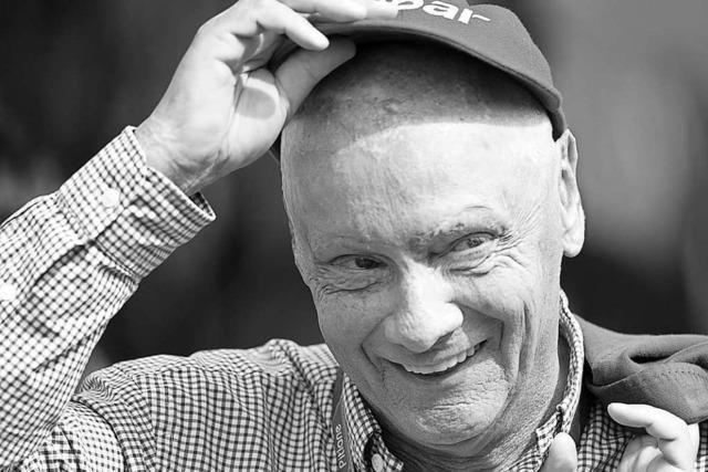 Abschied vom Mann mit der roten Mütze: Niki Lauda ist tot