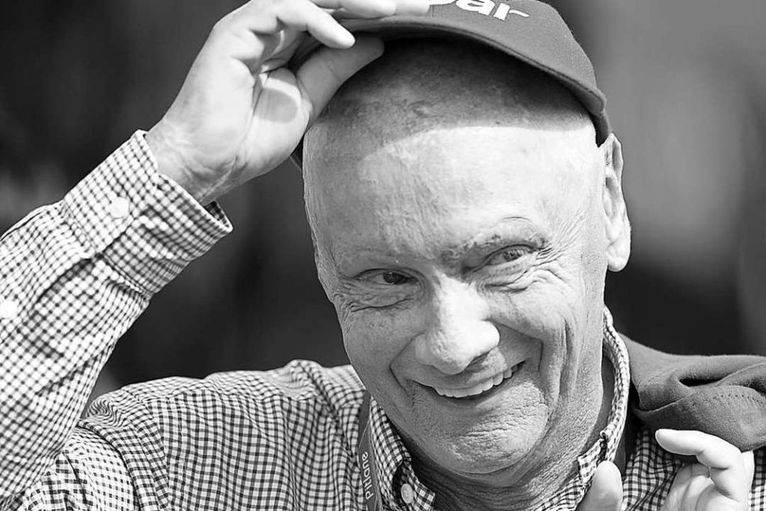 Niki Lauda, hier auf einem Archivbild aus dem Jahr 2011.  | Foto: David-Wolfgang Ebener (dpa)