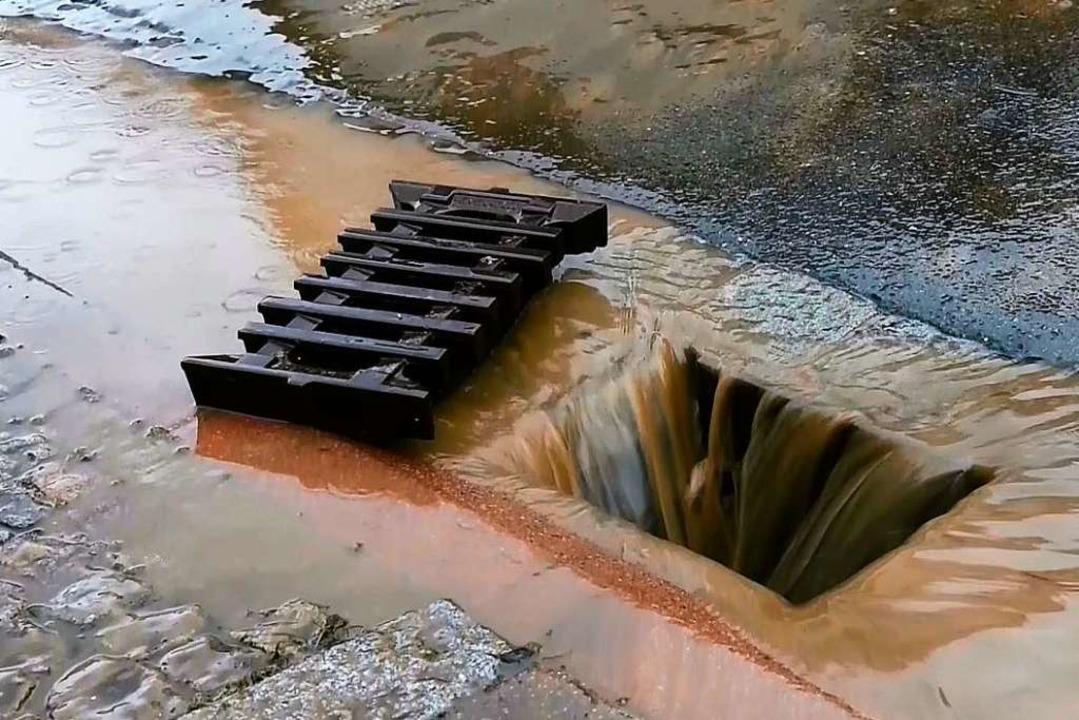 Viel zu viel Wasser in Kippenheim. Die... viele Nass bald nicht mehr aufnehmen.  | Foto: Wolfgang Künstle