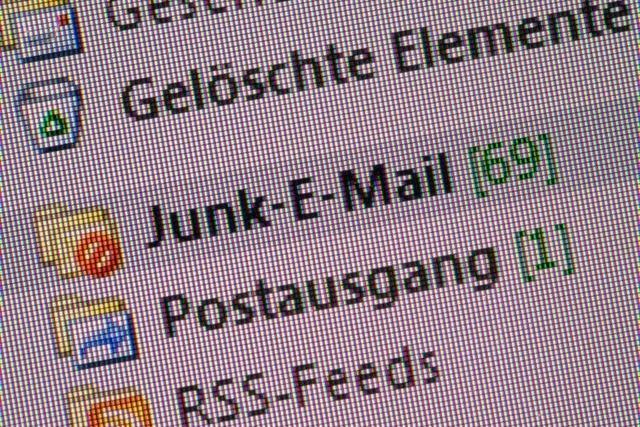Zahl der täglichen Spam-Mails in Deutschland um 34 Prozent gestiegen