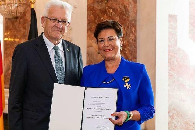 Drei Persönlichkeiten aus Freiburg bekommen den Landesverdienstorden