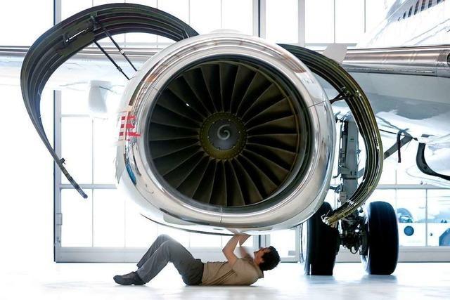 Am Euro-Airport entstehen Großraumjets mit Luxus-Feeling