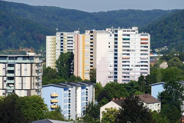 Die Hochhäuser in Rheinfelden gelten als sicher