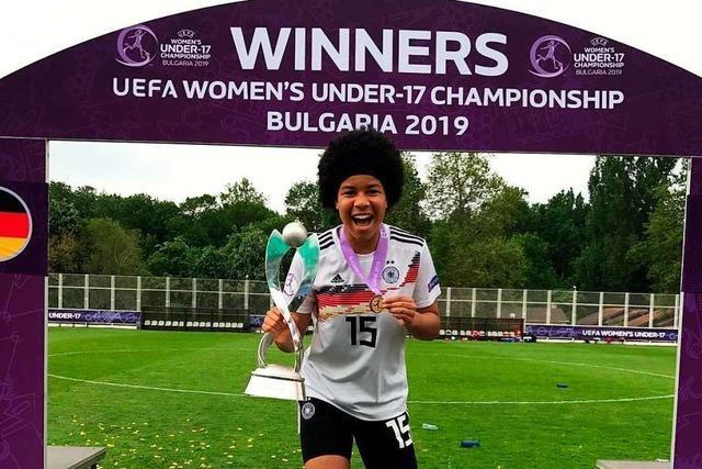 Wie Kickerin Victoria Ezebinyuo aus Altdorf den Titelgewinn erlebt hat