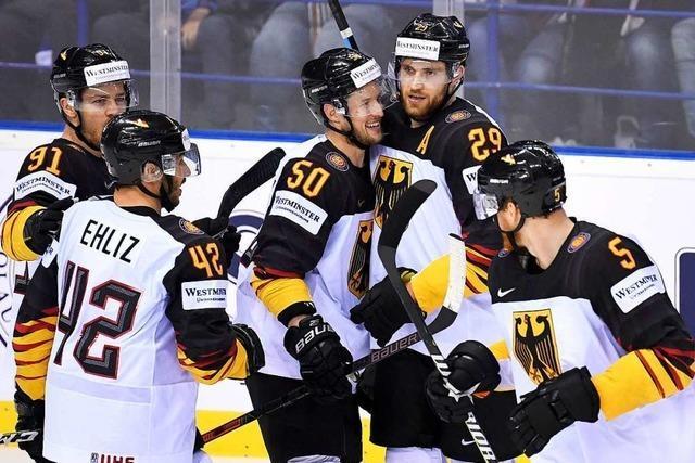 4:2 – Eishockey-Team überrascht bei der WM gegen Finnen
