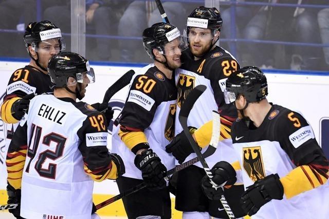 4:2 - Eishockey-Team überrascht bei der WM mit Sieg gegen Finnen
