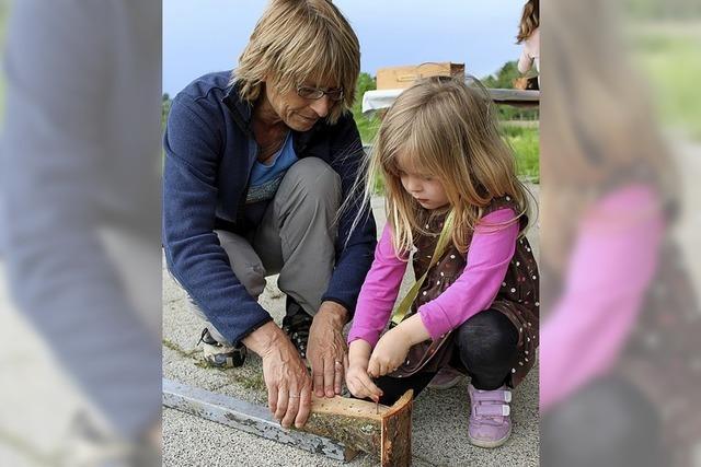 Mit Kindern Natur erkunden