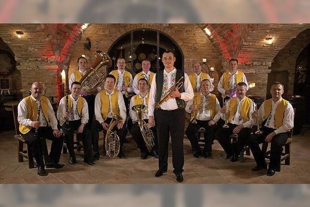 Vlado Kumpan und sein Ensemble in Guitach-Siegelau