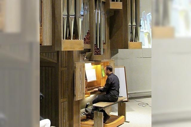 Ein ganzes Orchester steckt in der renovierten Orgel