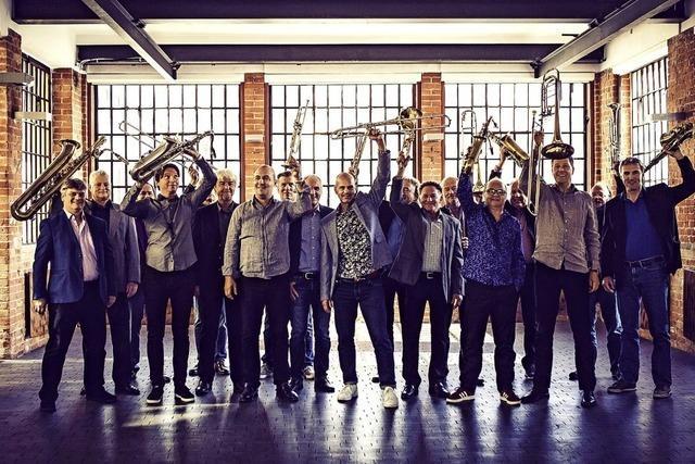 SWR Big Band & Freiburger Schüler Jazzorchester im E-Werk