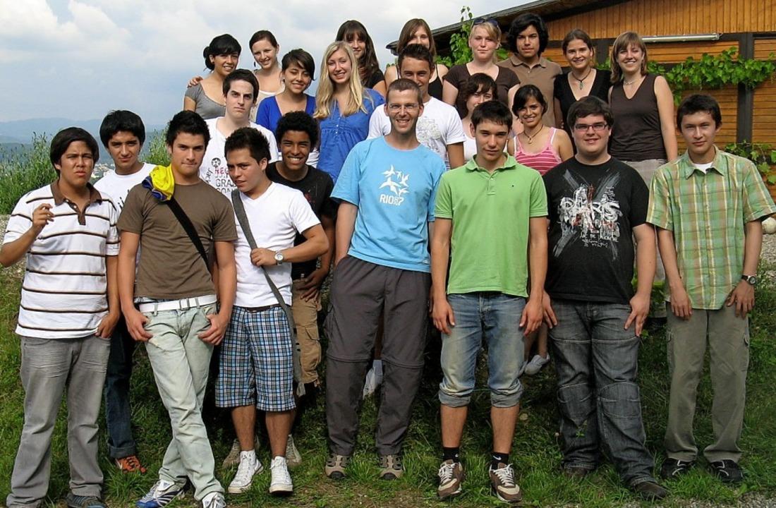 Die ersten Austauschschüler im Jahr 2009  | Foto: Jennifer Ruh