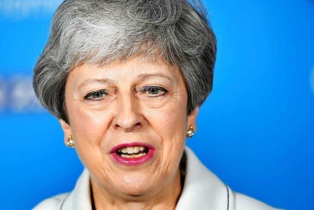 May stellt Abstimmung über 2. Brexit-Referendum in Aussicht