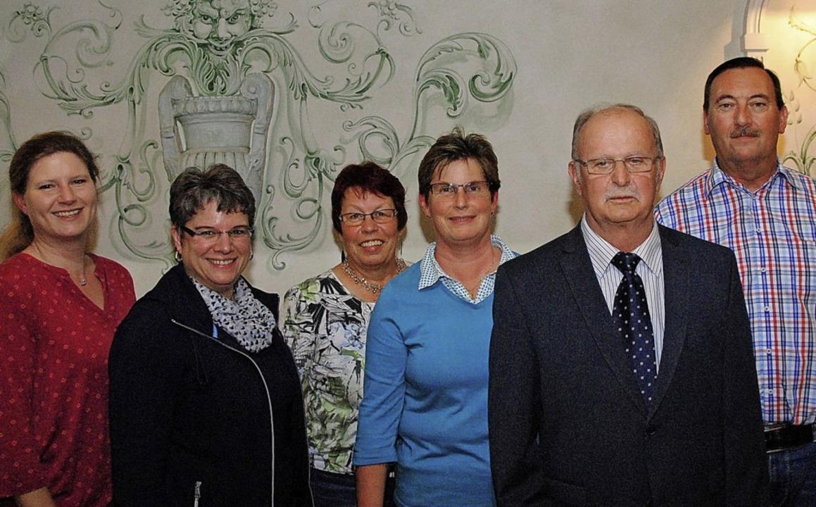 Sie leiten den Verein (von links): Dir...der neue Vorsitzende Wolfgang Bolanz.     Foto: Norbert Sedlak