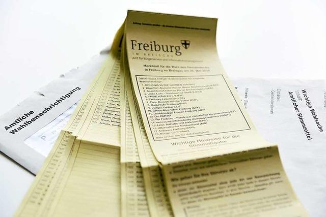 Manche Wähler in Freiburg warten noch auf ihre Stimmzettel