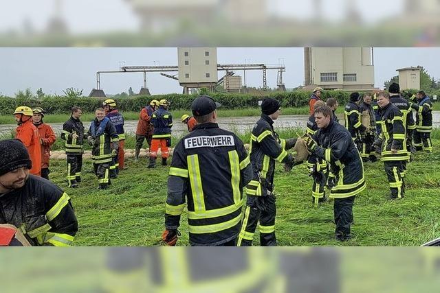 Feuerwehren war stark gefordert