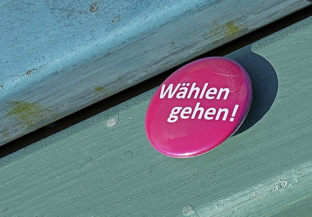 Am Sonntag dürfen auch eine halbe Mill...Württemberg mitbestimmen (Symbolbild).    Foto: Bernd Settnik