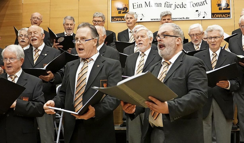 Chor 72 Lörrach    Foto: Chris Rütschlin
