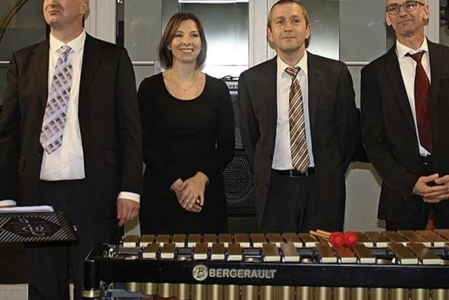 Jazzclub-Atmosphäre im Rathausfoyer