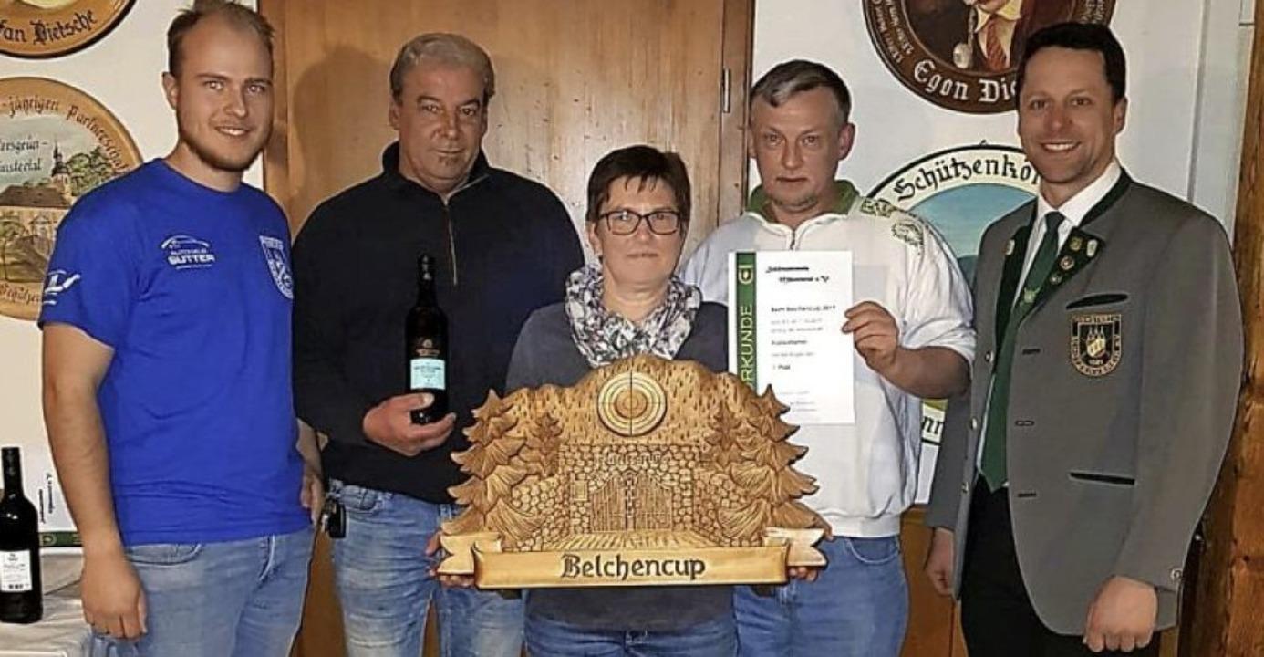 <BZ-FotoAnlauf>Schützenverein Münstert..., Christel Dietsche und Thiery Pfleger  | Foto: Manfred Lange