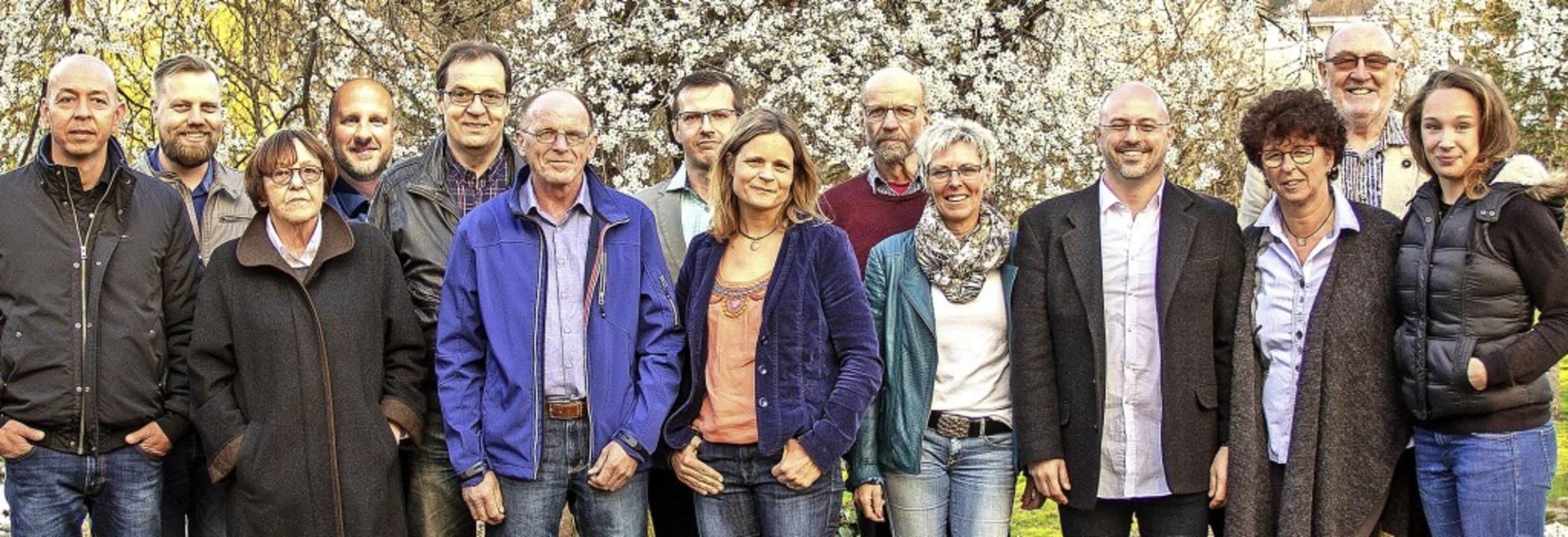Die BVM-Kandidaten für die anstehende Kommunalwahl am Sonntag.   | Foto: BZ