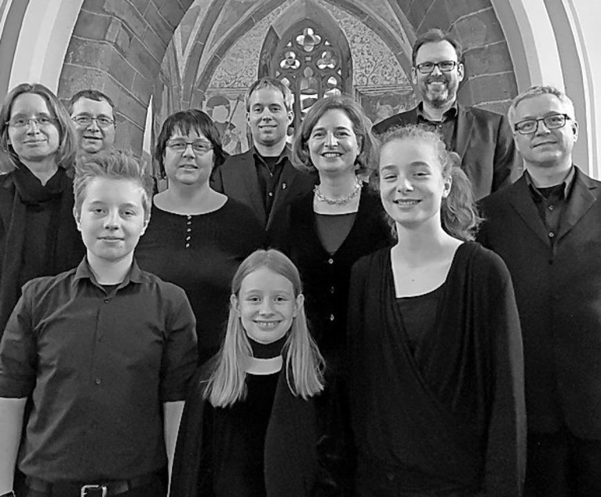 Das Vokalensemble ContraPunkt ist am S...r Alten Kirche in Schopfheim zu Gast.   | Foto: privat
