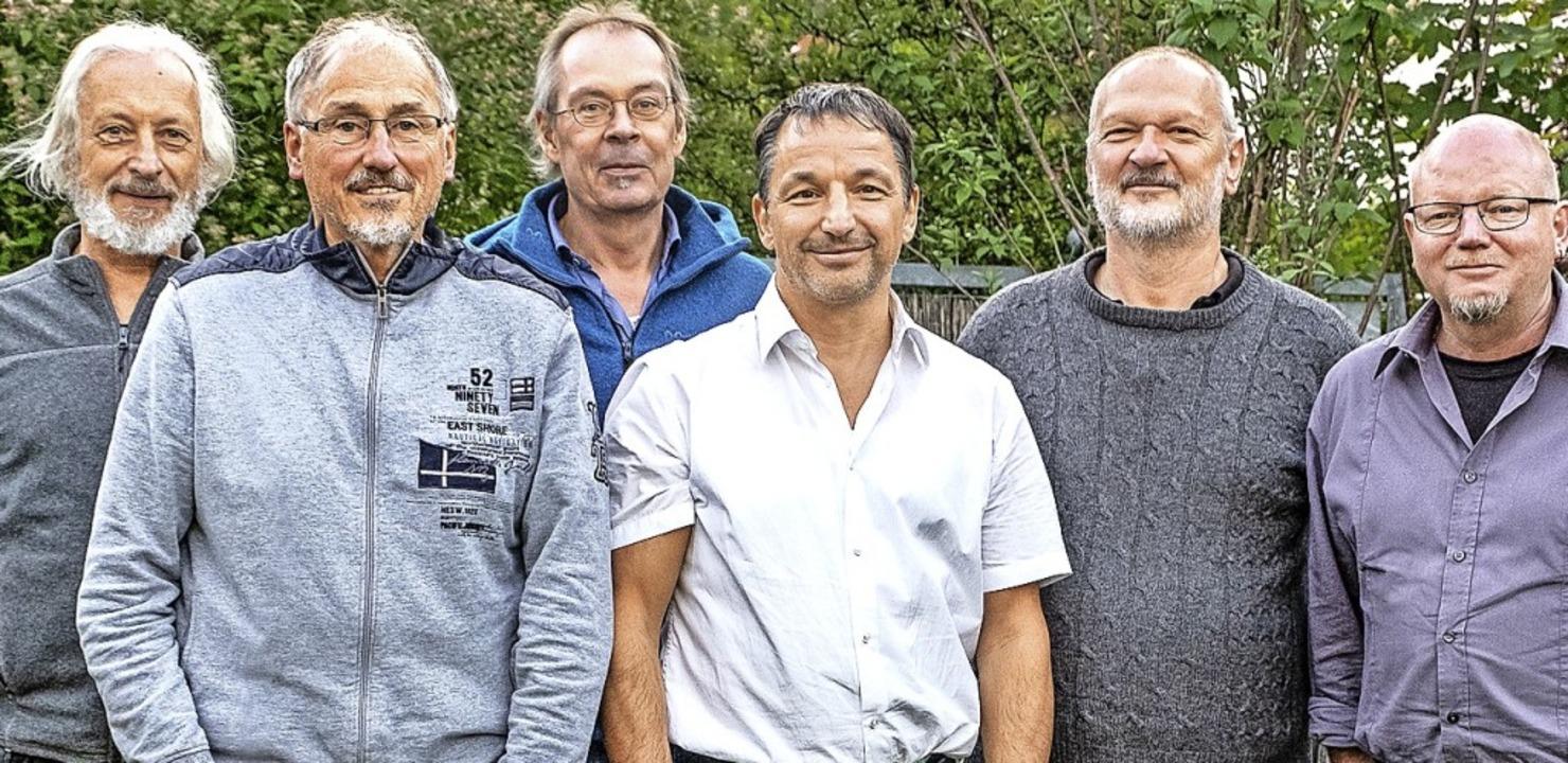 <BZ-Keyword>Neue Vorstand von &#8222;E...). Es fehlt Schriftführer Klaus Fleck.    Foto: Exbluesive - Jazz und Blues Südbaden