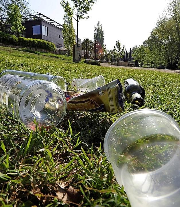 <BZ-FotoAnlauf>Müll I und II: </BZ-Fot...bei den Sammelaktionen fündig werden.   | Foto: Ingo Schneider