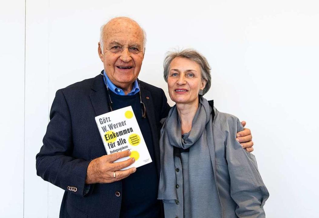 Das Stifterpaar Götz und Beatrice Werner  | Foto: Patrick Seeger