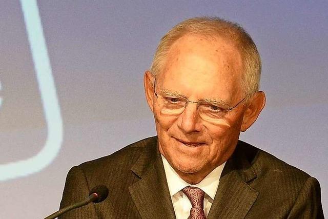 Wolfgang Schäuble bei Schüler-Talkshow