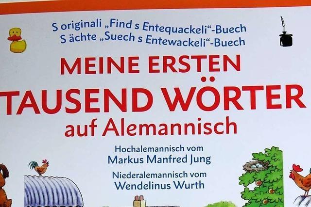 Der Wiesentäler Mundartautor Markus Manfred Jung will Kindern die Mundart nahebringen