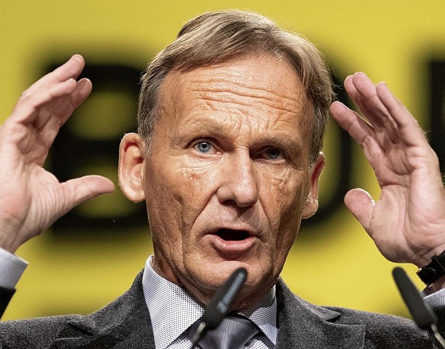 Hans-Joachim Watzke    Foto: Bernd Thissen (dpa)