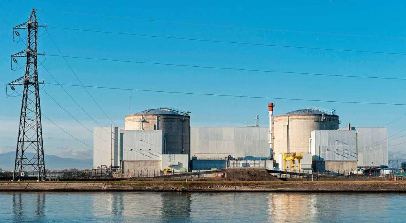 Das Atomkraftwerk Fessenheim  | Foto: Patrick Seeger