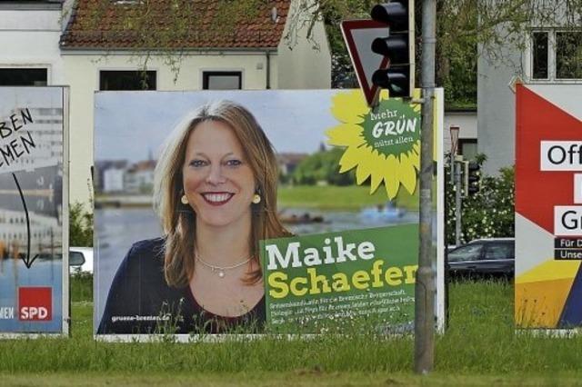 Die Grünen als Königsmacher