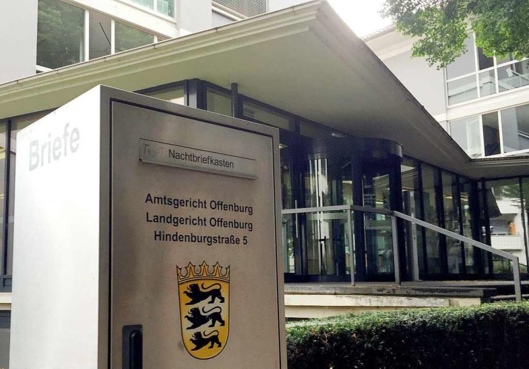 Verhandelt wurde vor dem Landgericht Offenburg.  | Foto: Jürgen Ruf