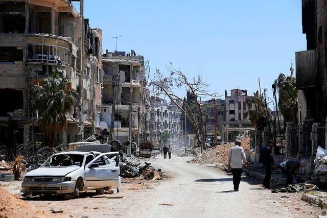 USA sprechen von Hinweisen auf Chemiewaffeneinsatz in Syrien