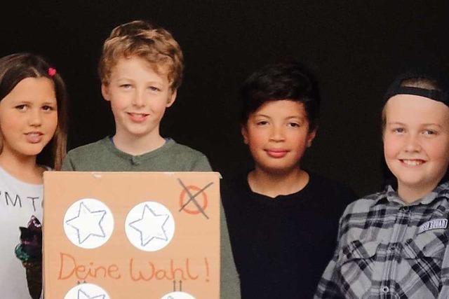 Bei der U-18-Wahl in Schallstadt und Ebringen siegen die Grünen