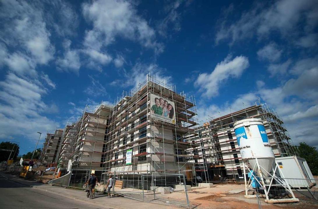 Die Landesregierung will den Wohnungsbau ankurbeln.  | Foto: Marijan Murat (dpa)